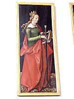 Saint Catherine of Alexandria, baldung