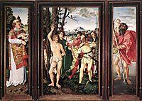 Saint Sebastian Altarpiece, 1507, baldung