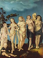 The Seven Ages of Woman, baldung