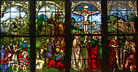 These stained glass windows in the Blumeneck Family Chapel, baldung
