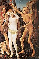Three Ages of the Woman and the Death, 1510, baldung