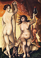 Two Witches, 1523, baldung