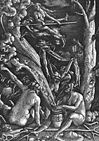 Witches Sabbath, 1510, baldung