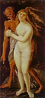 Young Woman and Death, 1517, baldung