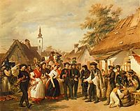 The Arrival of the Daughter-in-law, 1856, barabas