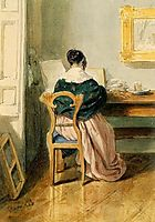 The Artist-s Wife, 1844, barabas