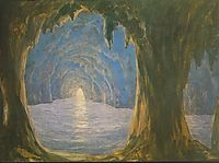 The Blue Grotto, 1835, barabas