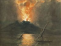 The Eruption of the Vesuv, 1835, barabas