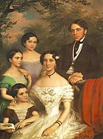 The Family Dégenfeld, 1854, barabas