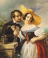 Flirtation, 1841, barabas