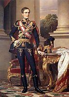 Portrait of Emperor Franz Joseph I, 1853, barabas