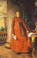 Portrait of János László Pyrker, Bishop of Eger, 1842, barabas