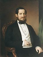 Portrait of János Matta, 1860, barabas