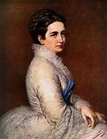 Portrait of Mrs. István Bittó, 1874, barabas