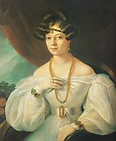 Portrait of a Woman, 1831, barabas