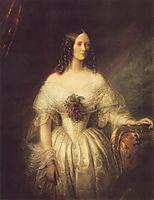 Portrait of a Woman, 1846, barabas