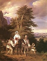 Romanian Family Going to the Fair, 1844, barabas