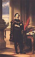 Standing Portrait of László Teleki, 1861, barabas