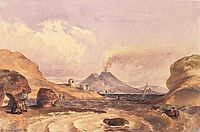 Vesuvius Seen from the Island of Capri, 1835, barabas