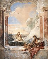 Achilles consoled by his mother, Thetis, 1757, battistatiepolo