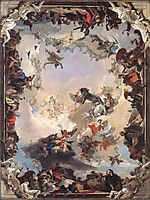 Allegory of the Planets and Continents, 1752, battistatiepolo