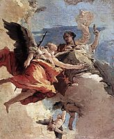 Allegory of Strength and Wisdom, 1743, battistatiepolo
