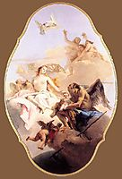 An Allegory with Venus and Time, 1758, battistatiepolo