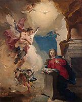 Annunciation, 1725, battistatiepolo