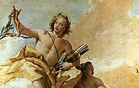 Apollo and Diana, 1757, battistatiepolo