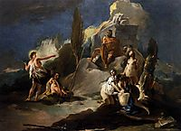 Apollo and Marsyas, c.1725, battistatiepolo