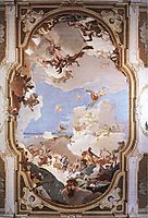 The Apotheosis of the Pisani Family, 1762, battistatiepolo