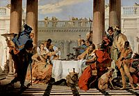 The Banquet of Cleopatra, 1744, battistatiepolo