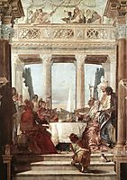 The Banquet of Cleopatra, 1747, battistatiepolo