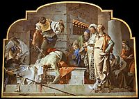 The Beheading of John the Baptist, 1733, battistatiepolo