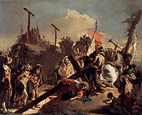 Carrying the Cross, c.1738, battistatiepolo