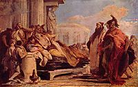 Death of Dido, battistatiepolo