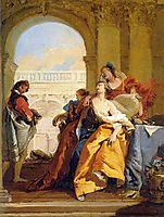 The Death of Sophonisba, 1760, battistatiepolo