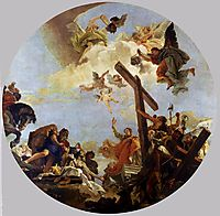 The Discovery of the True Cross and St. Helena, c.1745, battistatiepolo