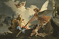 The Flight to Egypt, battistatiepolo