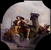 Fortitude and Justice, 1743, battistatiepolo