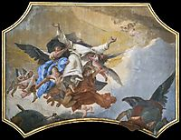 The Glory of St Dominic, 1739, battistatiepolo