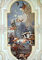 The Institution of the Rosary, 1739, battistatiepolo