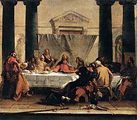 The Last Supper, 1747, battistatiepolo