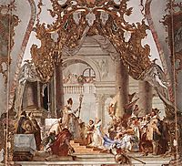 The Marriage of the Emperor Frederick Barbarossa to Beatrice of Burgundy, 1751, battistatiepolo