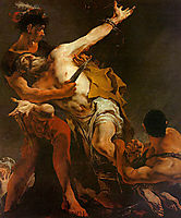 The Martyrdom of St. Bartholomew, 1722, battistatiepolo