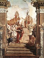The Meeting of Anthony, 1747, battistatiepolo