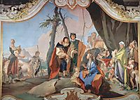 Rachel Hiding the Idols, 1728, battistatiepolo