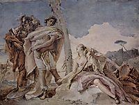 Rinaldo Abandoning Armida, 1757, battistatiepolo