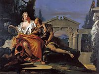 Rinaldo and Armida, 1753, battistatiepolo