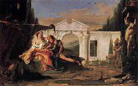 Rinaldo and Armida, 1760, battistatiepolo